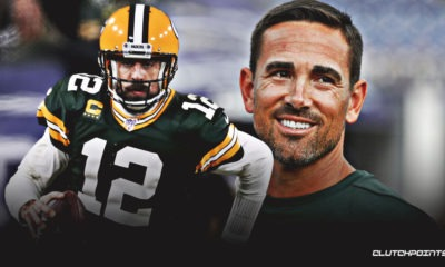 Aaron Rodgers, Matt LaFleur, Packers