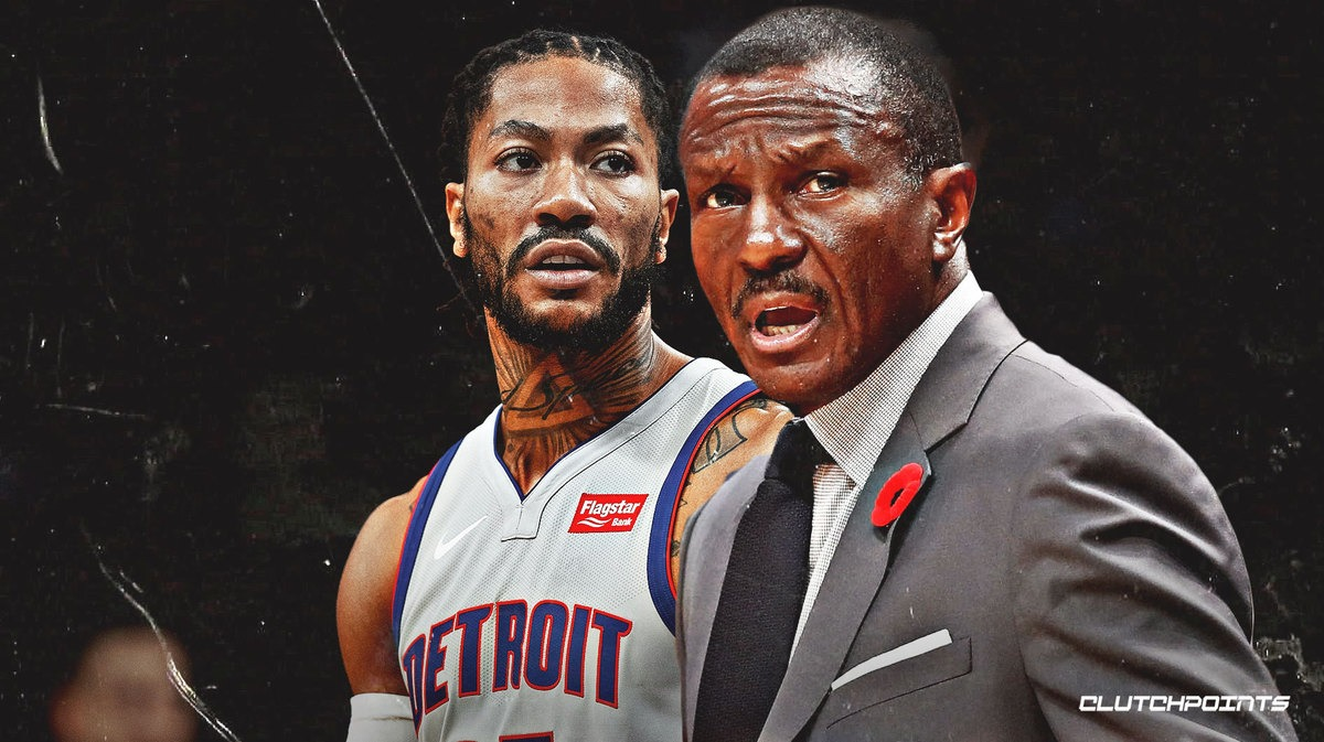 Pistons coach says Derrick Rose can't physically handle more minutes