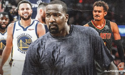 Hawks, Kendrick Perkins, Trae Young, Stephen Curry, Warriors