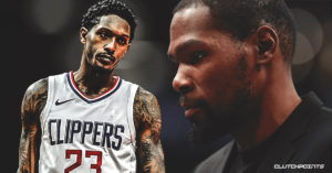 Lou Williams, Kevin Durant, Clippers, Nets