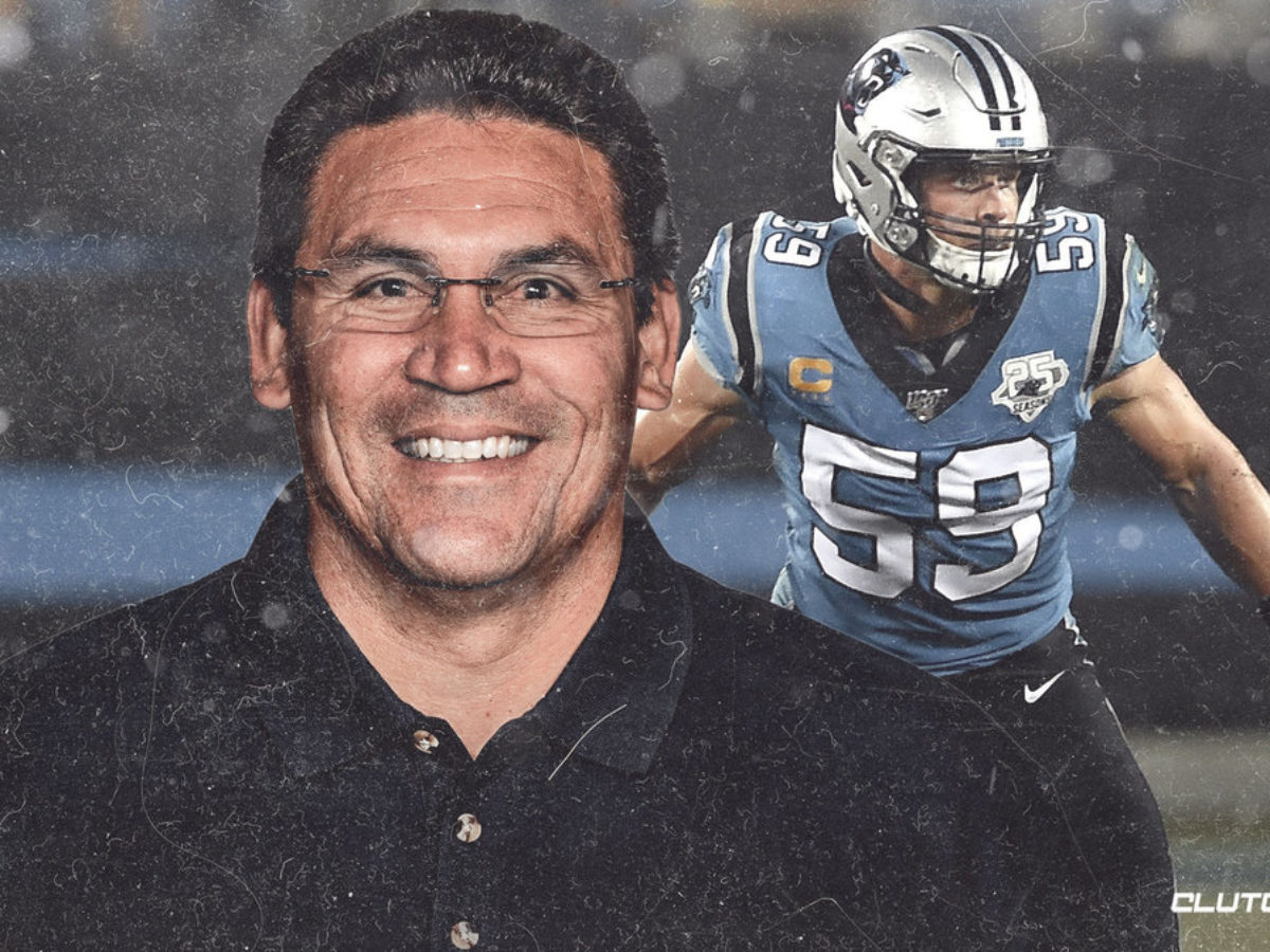 Panthers news: Ron Rivera reacts to Luke Kuechly retiring from the NFL