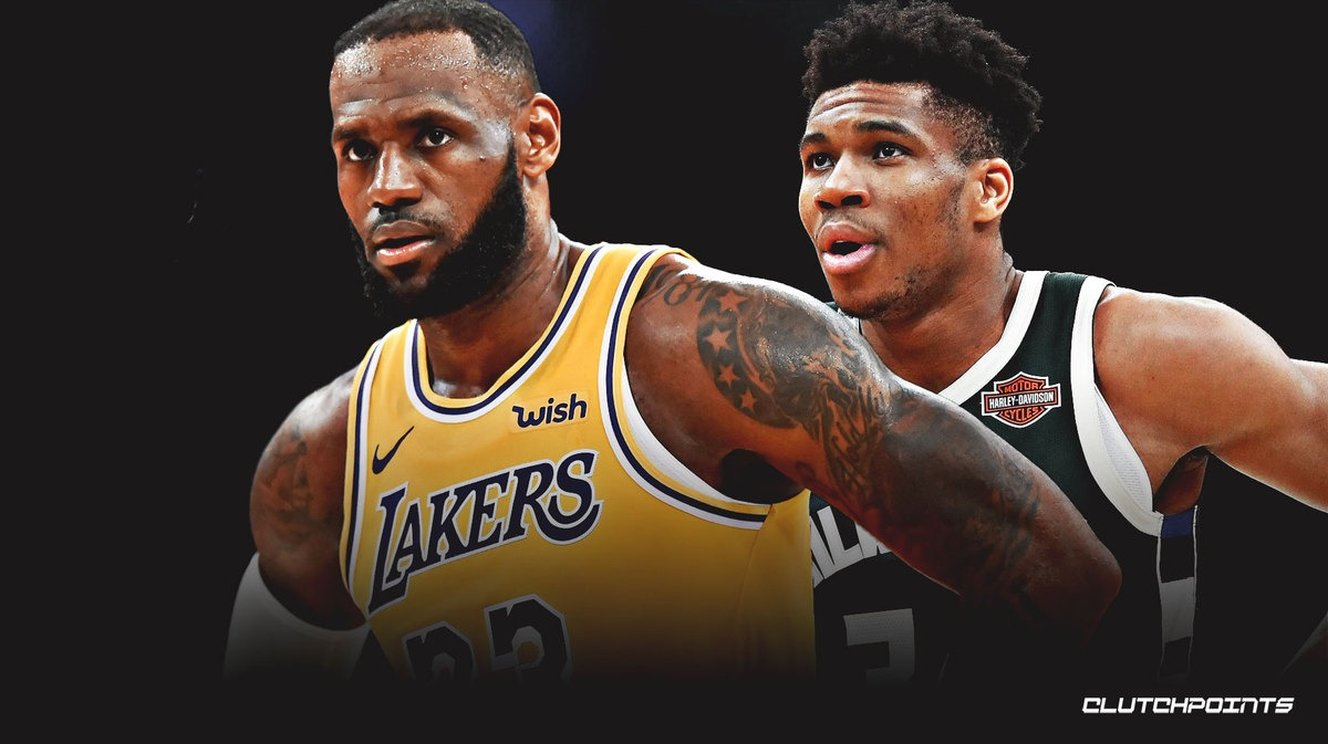 NBA, Bucks, Lakers, LeBron-James, Giannis-Antetokounmpo