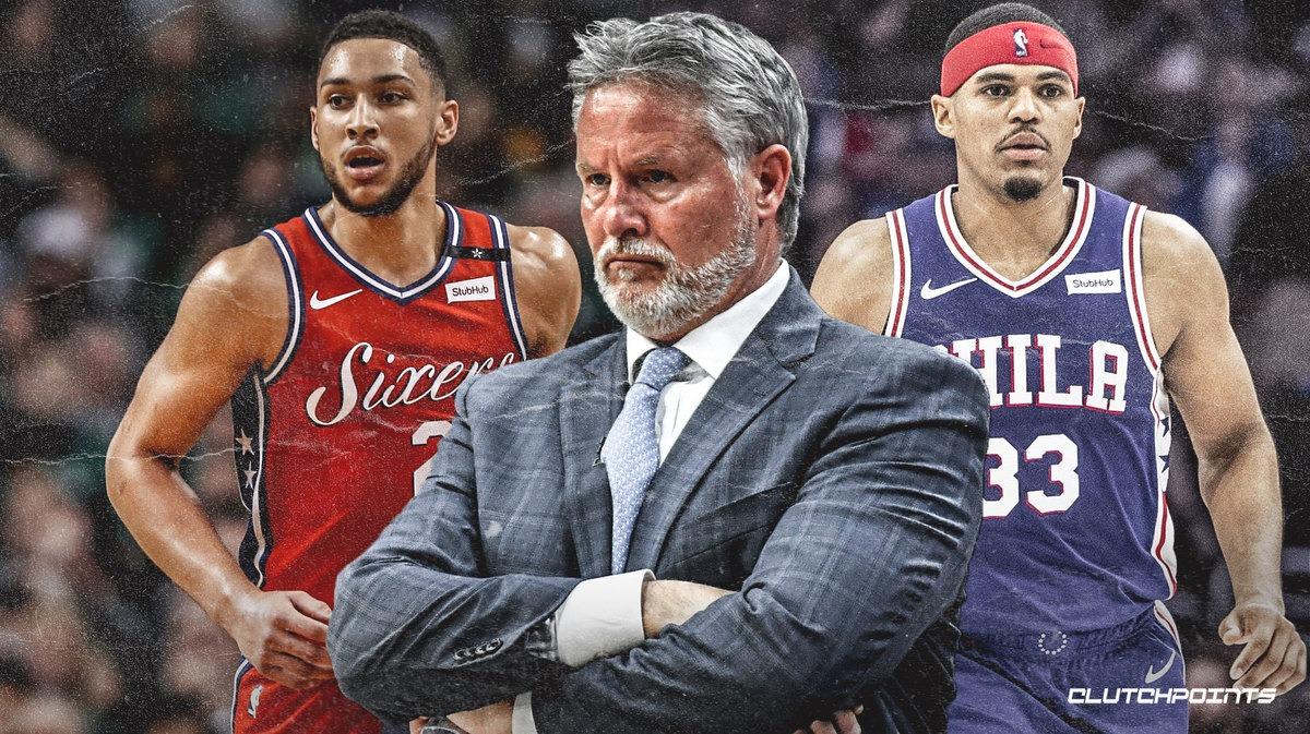 Sixers, Brett Brown, Ben Simmons, Tobias Harris