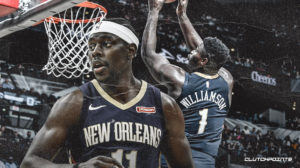 jrue holiday, zion williamson, pelicans