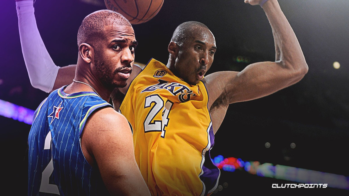 Chris Paul, Kobe Bryant, Lakers, Thunder
