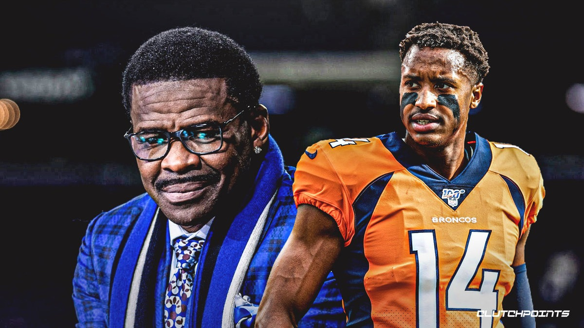 Michael Irvin speaks out on Broncos' Courtland Sutton's improvement