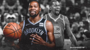 Kevin Durant, Nets, Warriors