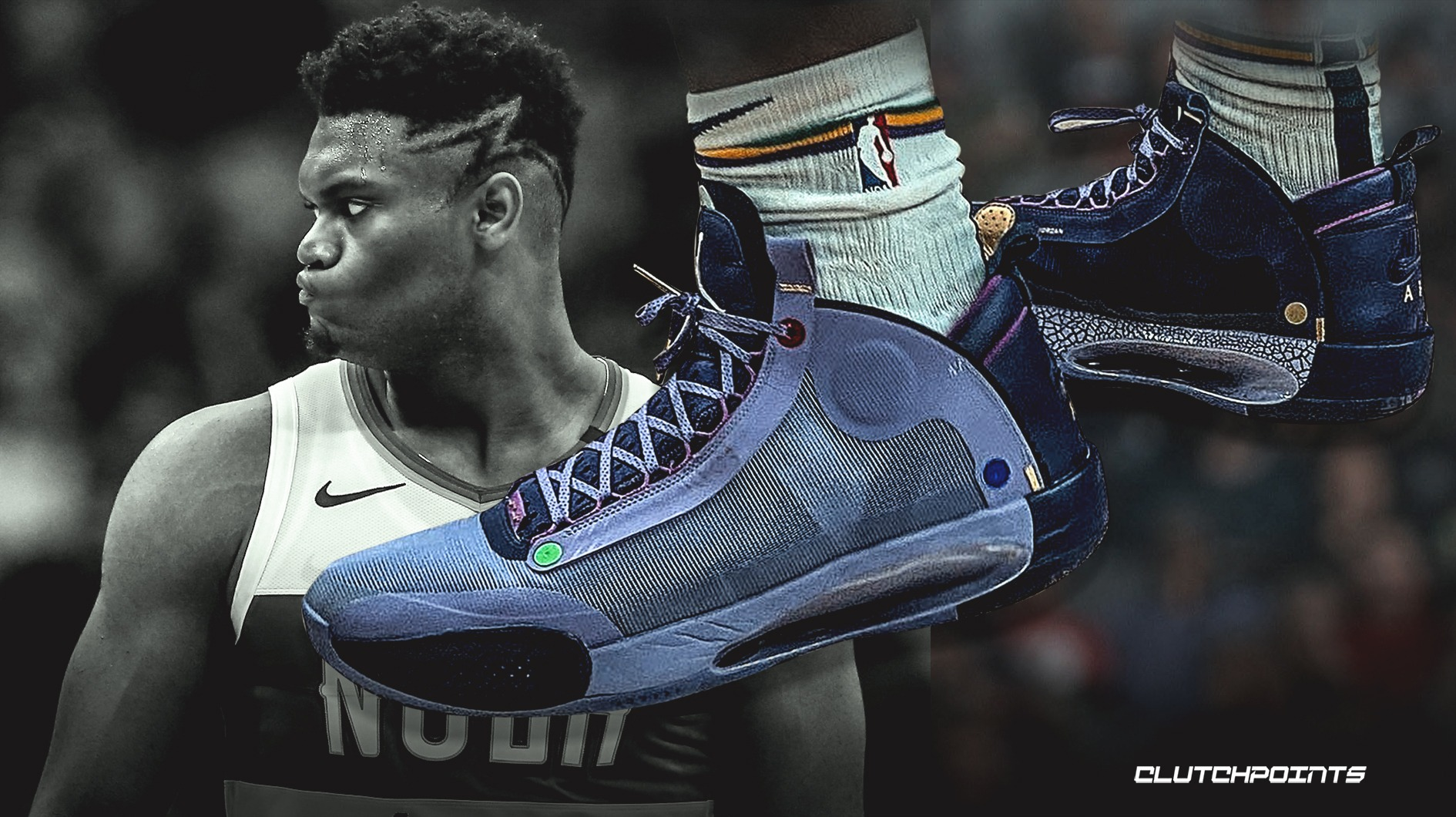Zion Williamson debuts Thanos-inspired