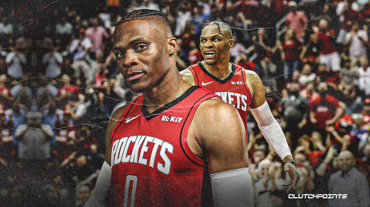 Rockets All-Star Russell Westbrook claims only 4-5 NBA players deserve signature shoe