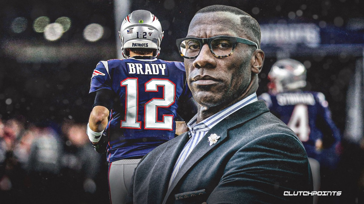 Shannon Sharpe says Patriots' Tom Brady is 'running on fumes'
