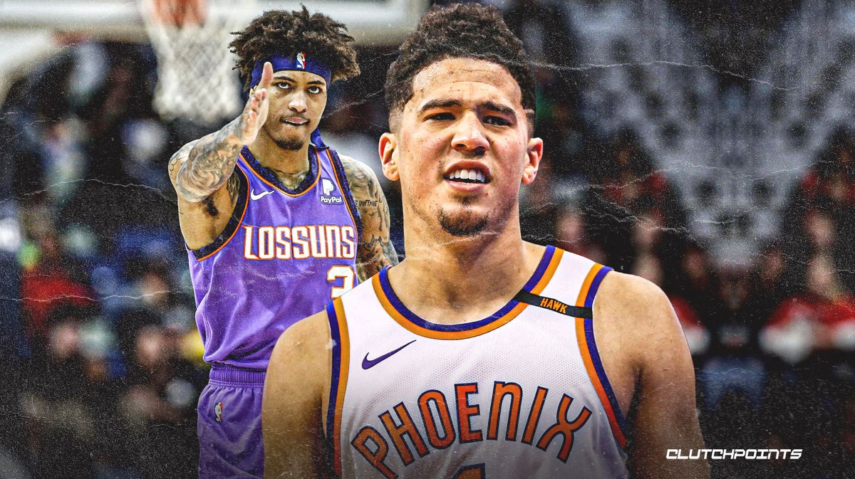 Suns All-Star Devin Booker reacts to Kelly Oubre Jr.'s meniscus tear