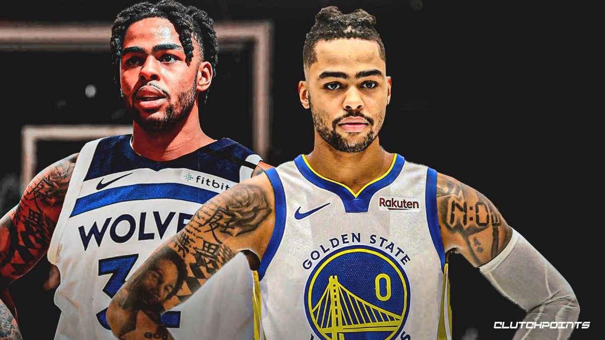 Warriors reportedly moving on from D'Angelo Russell trade talks with Timberwolves
