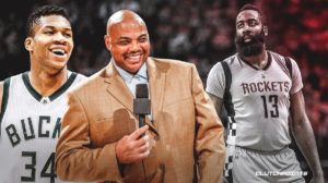 James Harden, Giannis Antetokounmpo, Rockets, Bucks. NBA, charles barkley