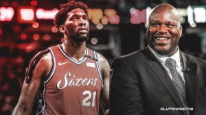 Sixers, Shaquille O'Neal, Joel Embiid