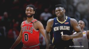 NBA, Zion Williamson, Pelicans, Coby White, Bulls