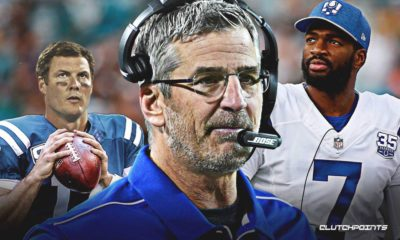 Frank Reich, Philip Rivers, Jacoby Brissett, Colts