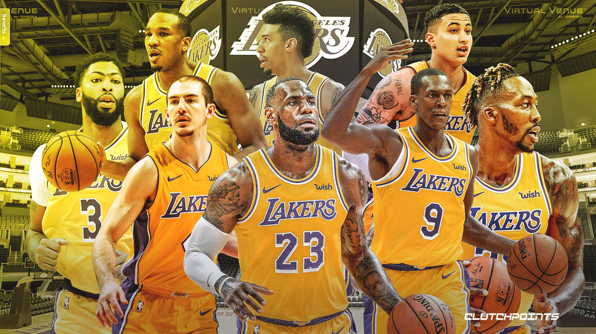 2019-2020 Los Angeles Lakers Roster