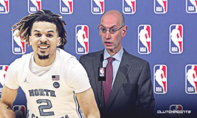 NBA, Cole Anthony, Adam Silver