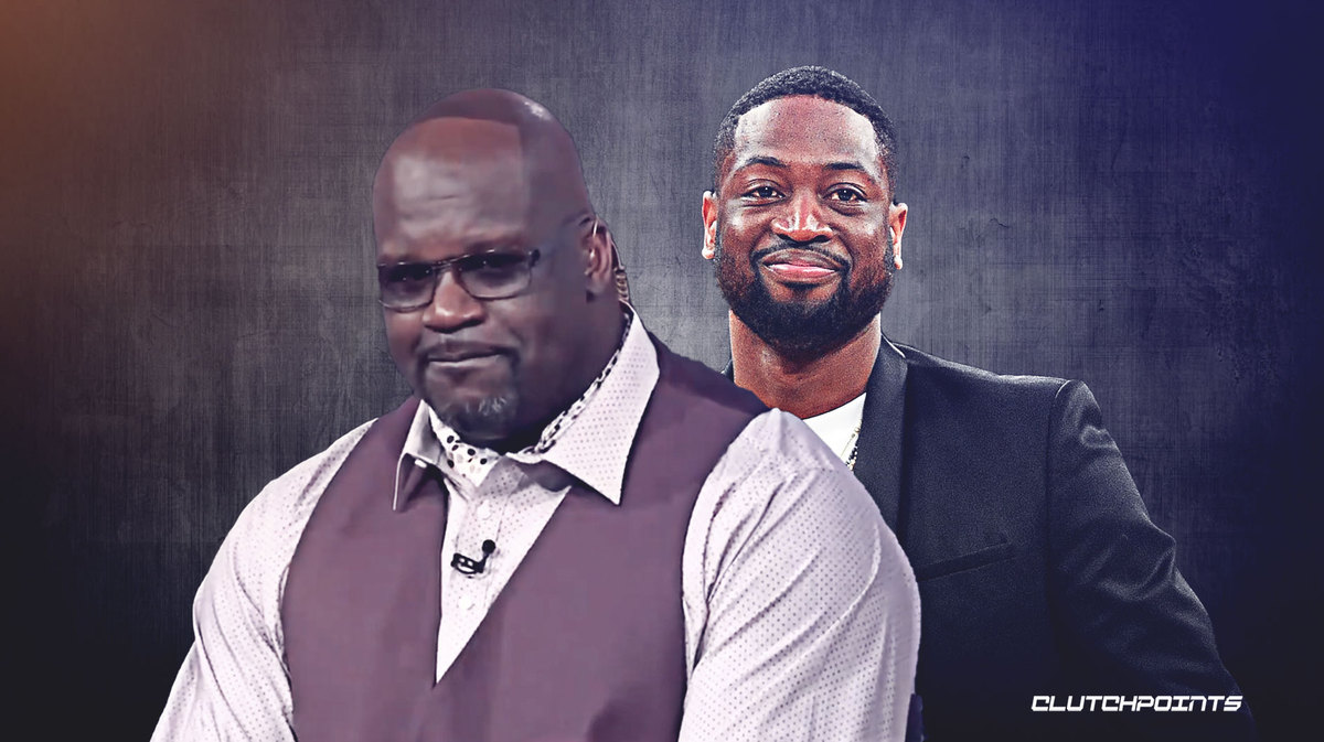 Shaq reveals receding hairline after losing bet to Dwyane Wade