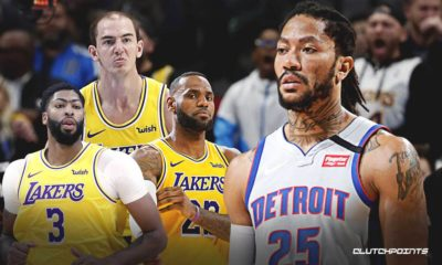 Lakers, Pistons, Derrick Rose