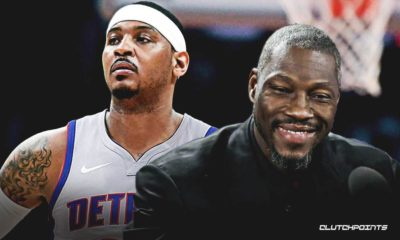Pistons, Ben Wallace, Carmelo Anthony
