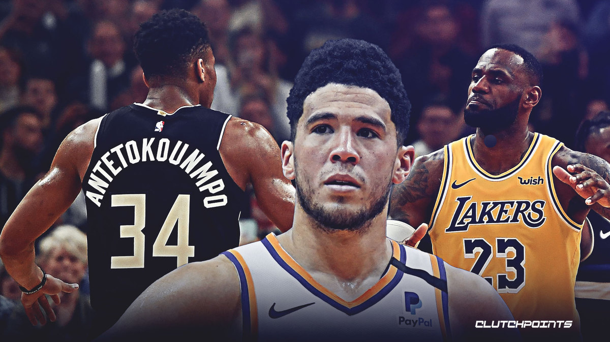 Devin Booker explains not picking Suns in National Basketball Association  2K20