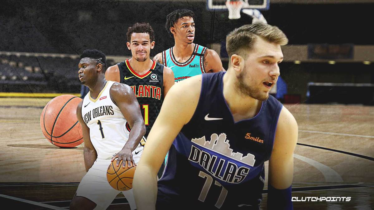 Luka Doncic, Zion Williamson, Ja Morant, Trae Young, NBA