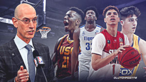 Adam silver, NBA , NBA Draft, LaMelo Ball, James Wiseman