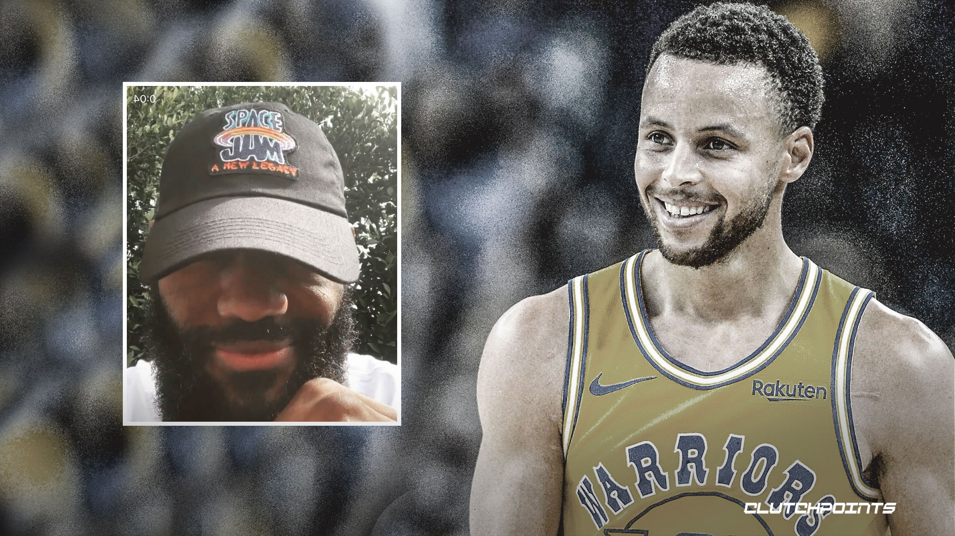 Stephen Curry, Warriors, Space Jam 2