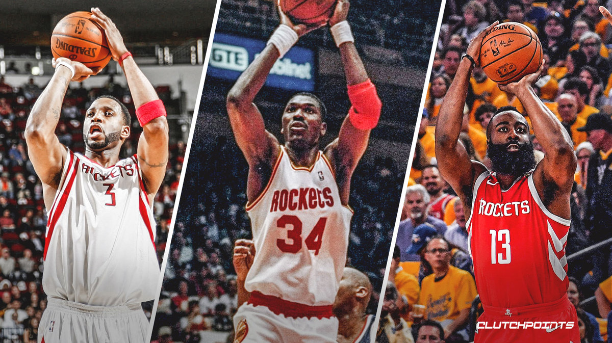 Rockets, Tracy McGrady, Hakeem Olajuwon, James Harden