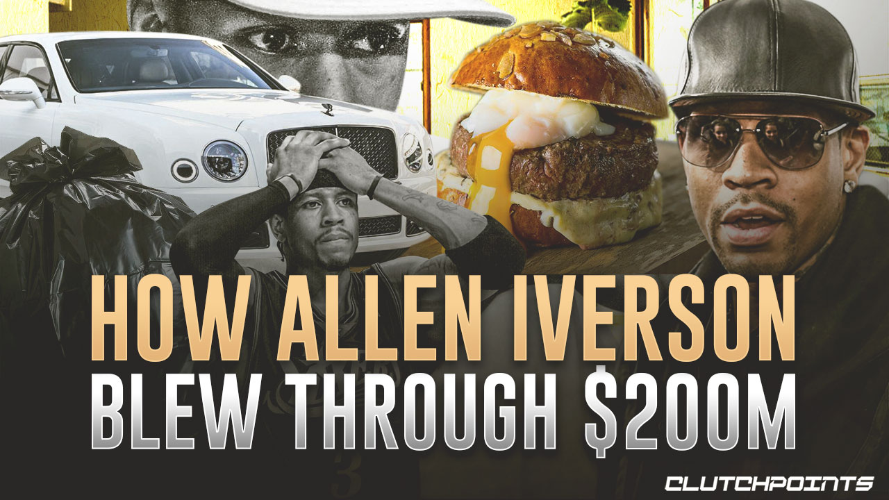 How Allen Iverson Blew Through $200 Million, But Was Saved By A Secret Clause