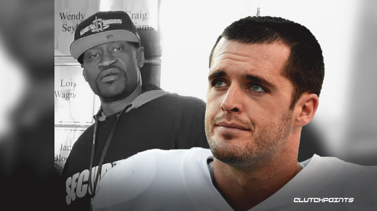 Raiders QB Derek Carr issues moving statement following George Floyd's death