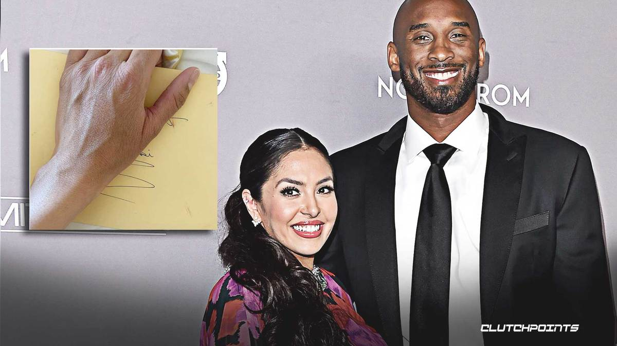 Vanessa Bryant celebrates birthday with letter from late husband Kobe Bryant