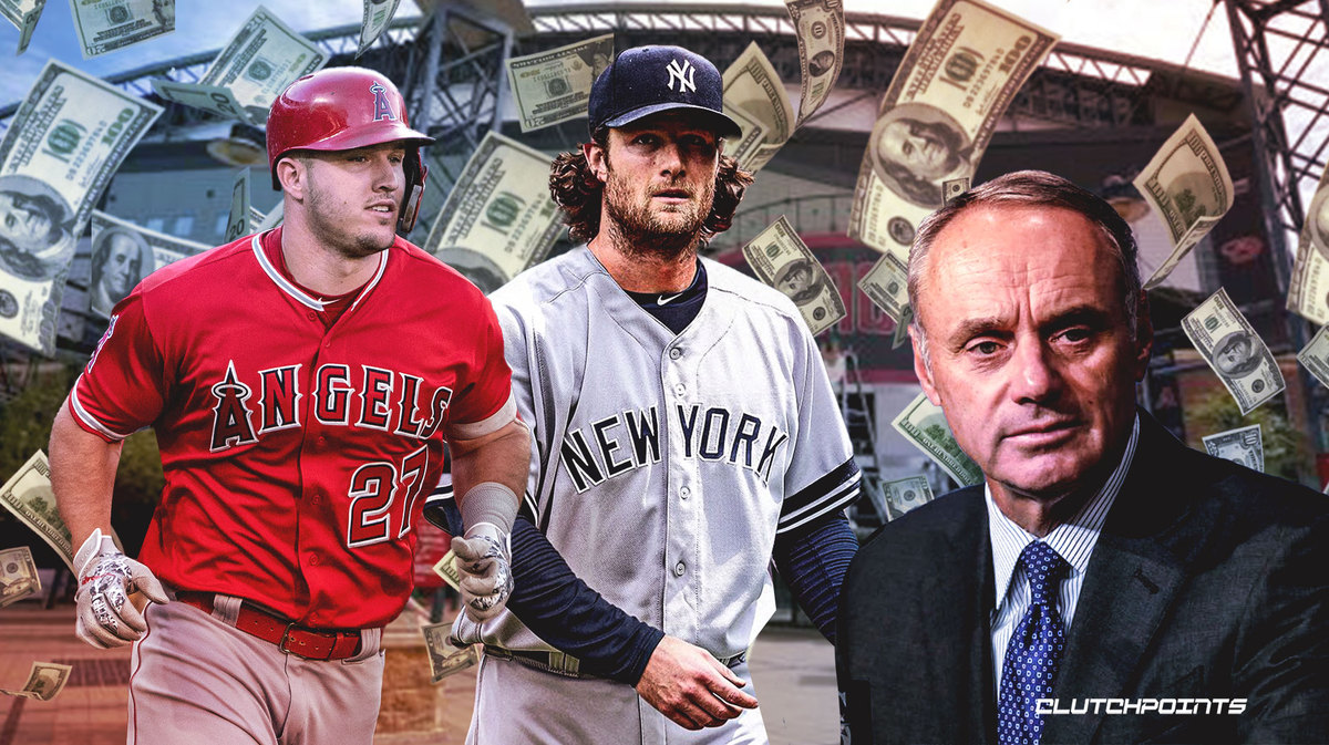 MLB, Mike Trout, Gerrit Cole, Rob Manfred