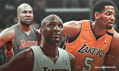 Lakers, Derek Fisher, Lamar Odom, Robert Horry