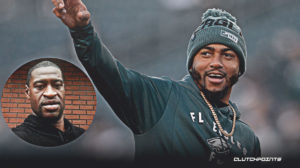 DeSean Jackson, George Floyd, Eagles