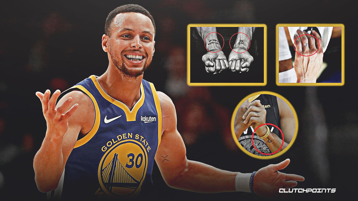 Every Known Stephen Curry Tattoo On The Warriors Star S Body