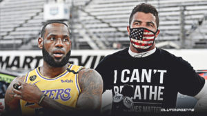 LeBron James, Bubba Wallace