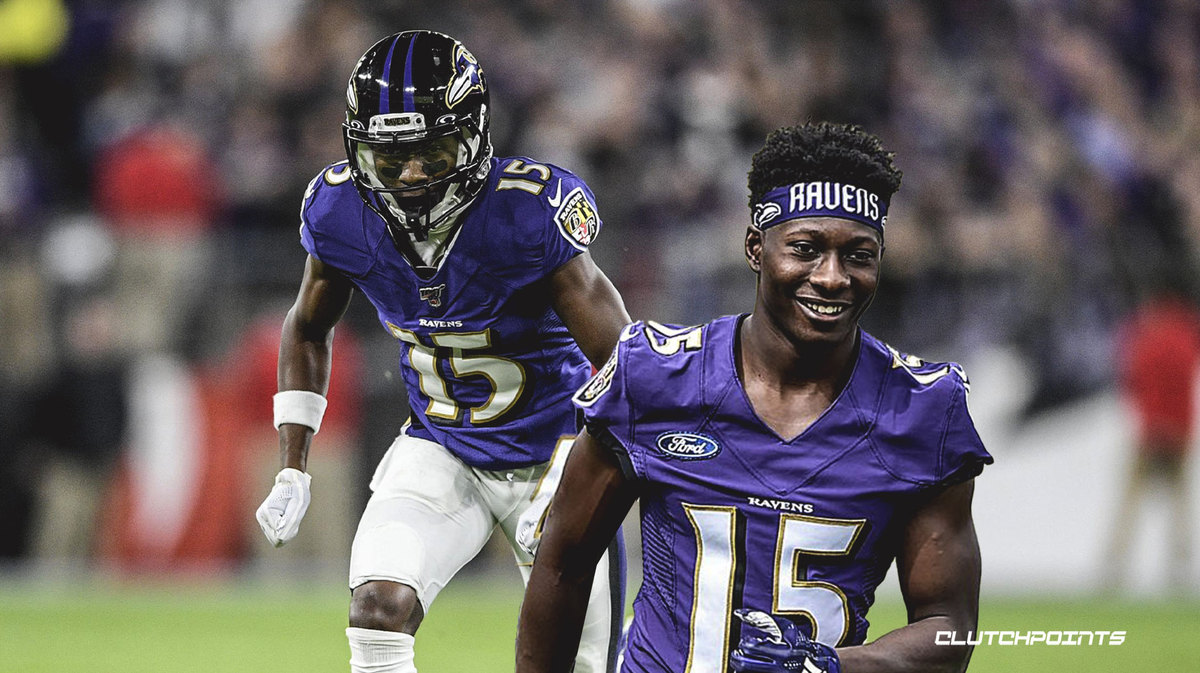 Ravens, Marquise Brown