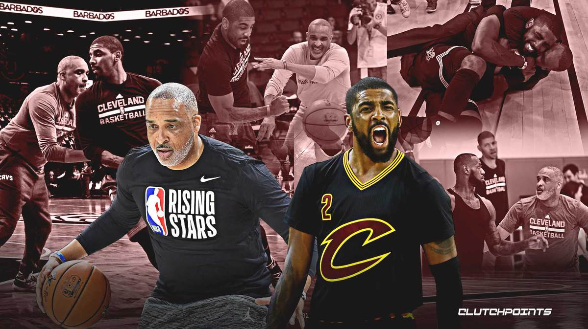 Phil Handy, Kyrie Irving, LeBron James, Cavs, Lakers, Nets
