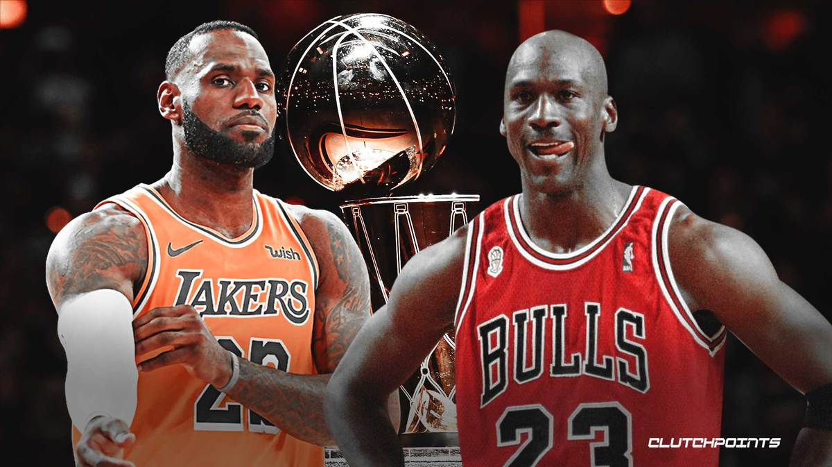 LeBron James, Michael Jordan, Lakers
