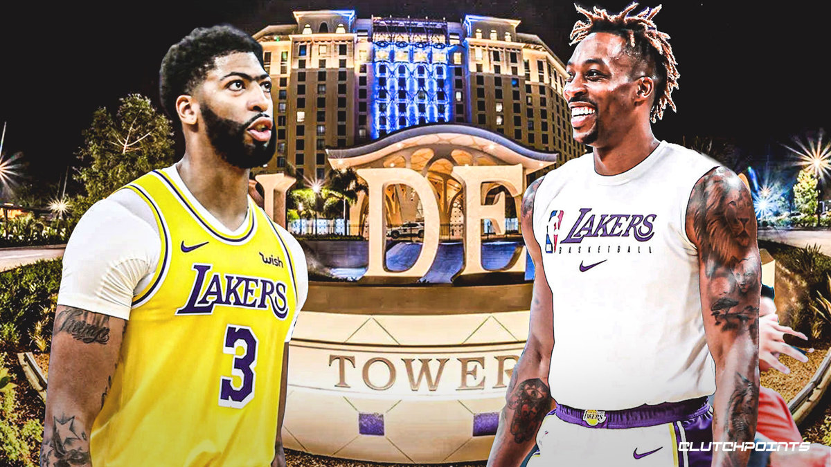 Lakers' Anthony Davis reveals Dwight Howard was all alone at DJ pool party