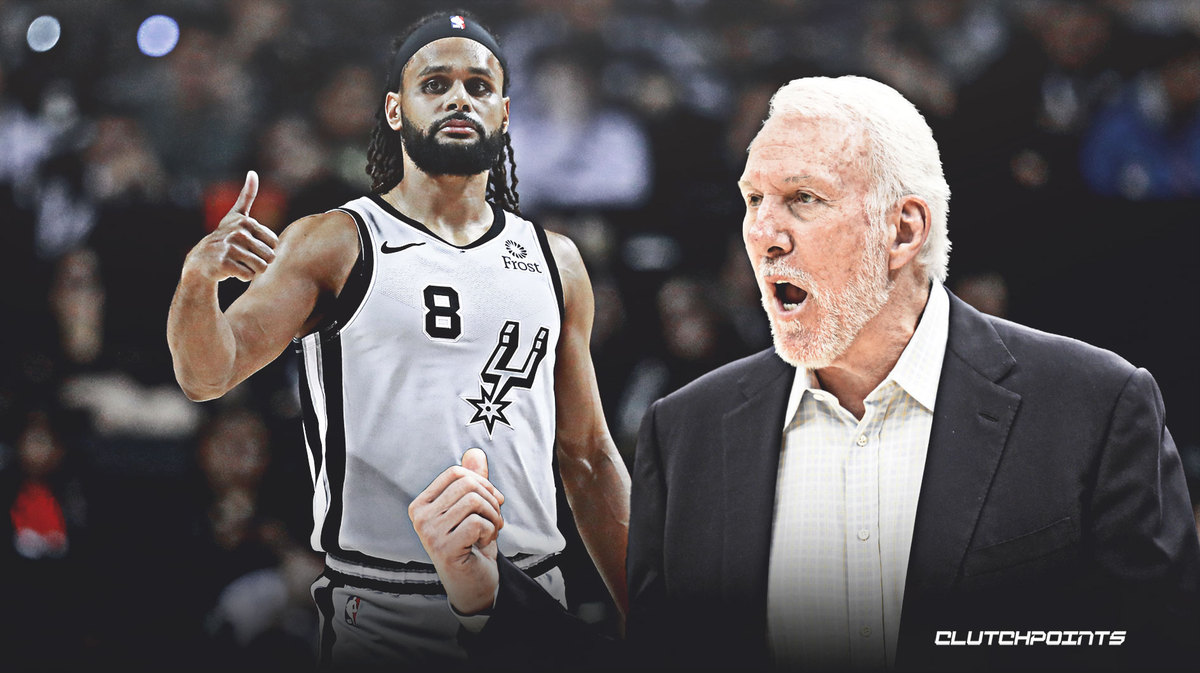 Gregg Popovich, Patty Mills, Spurs