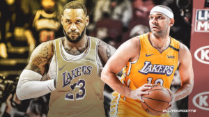 Jared Dudley, Lakers, LeBron James