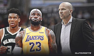 Jason Kidd, LeBron James, NBA, Lakers, Bucks, Giannis Antetokounmpo