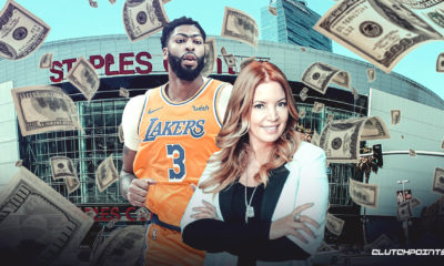Anthony Davis, Lakers, Jeanie Buss