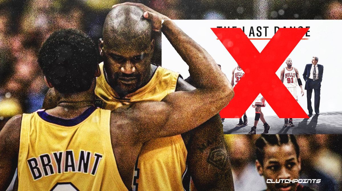 Lakers, Shaquille O'Neal, Kobe Bryant, The Last Dance