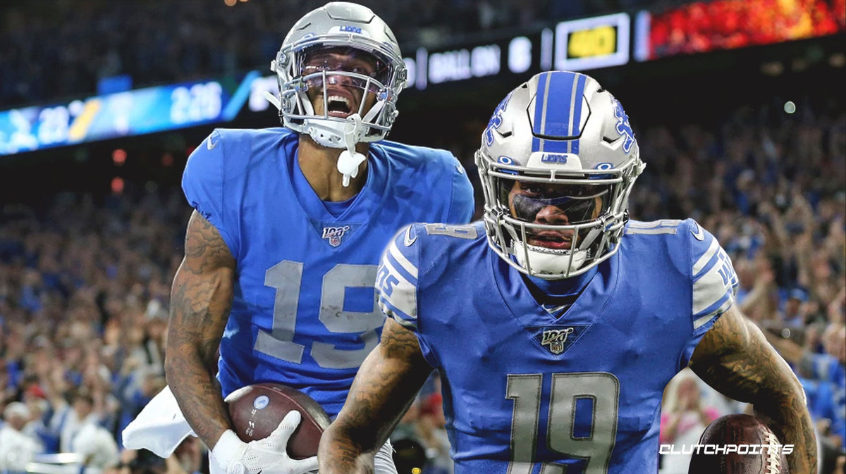 Kenny Golladay, Lions