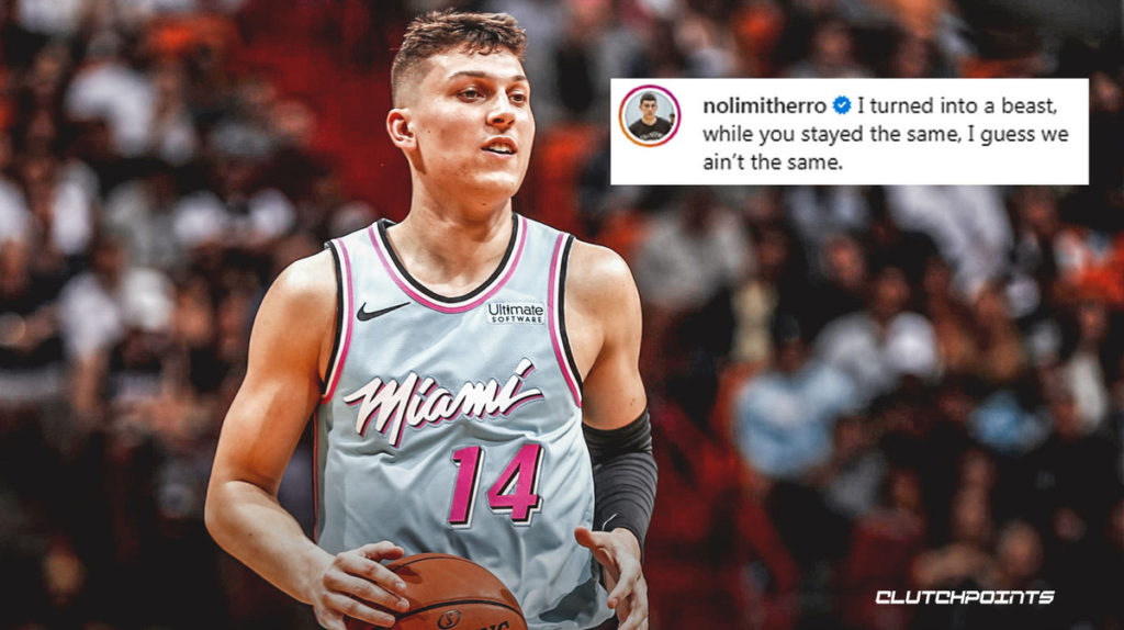 Heat News Tyler Herro Rips Haters With Ig Post Headed To Orlando Bubble