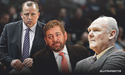 tom thibodeau, james dolan, george karl